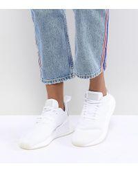 17faf94e9c9e85 Adidas Originals Originals Nmd R2 Trainers In White And Black in ...