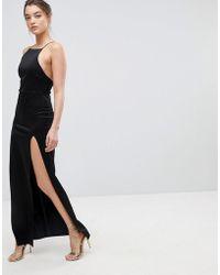 ASOS Asos Double Split Maxi Dress