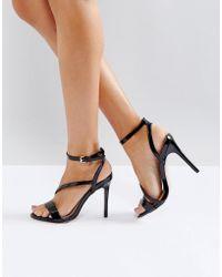 Miss Kg - Asymmetric Heel Sandal - Lyst