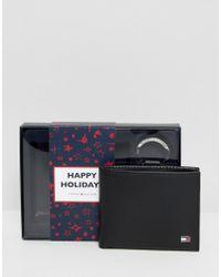 Tommy Hilfiger - Eton Mini Card Holder Wallet And Keyfob Giftset - Lyst