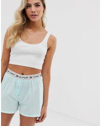 Tommy Hilfiger - Authentic Woven Short In Blue - Lyst