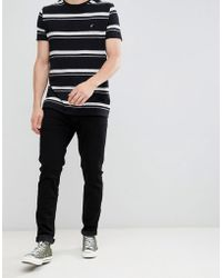 Abercrombie & Fitch - Slim Fit Jeans In Black - Lyst