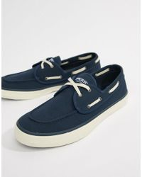Sperry Top-Sider - Topsider Trainer Boat Shoes In All Navy - Lyst