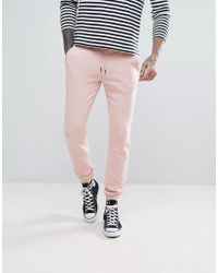 Farah - Shalden Slim Fit Sweat Joggers In Pink - Lyst
