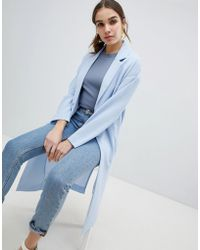 Monki - Lightweight Duster Coat - Lyst
