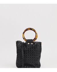 Mango - Laser-cut Bucket Bag - Lyst