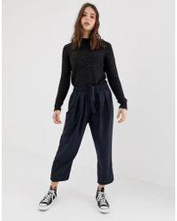 Free People - Shakin All Over Pinstripe Cropped Trousers - Lyst