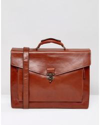 Royal Republiq - Conductor Satchel In Leather - Lyst