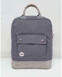 Mi-Pac - Tote Backpack In Charcoal - Lyst