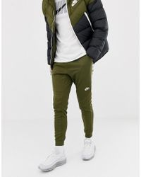 Nike - Tribute Joggers In Green 884898-395 - Lyst