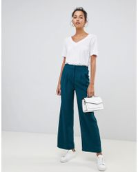 Suncoo - Wide Leg Trousers - Lyst