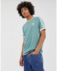 7091cfb6b adidas Originals Id96 T-shirt In Green Ay9248 in Green for Men - Lyst