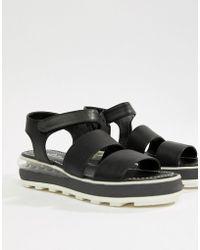 Sixtyseven - Sixty Seven Flatform Heeled Sandals - Lyst
