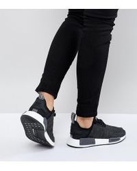 2dbcc14ba4866 Lyst - adidas Originals Originals Nmd R2 Sneakers In White And Gray ...