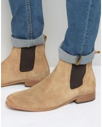Shoe The Bear - Suede Chelsea Boots - Lyst