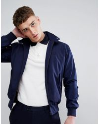 Fred Perry - Reissues Made In England Harrington Jacket In Navy - Lyst