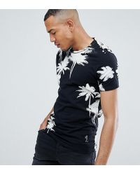 Religion - Muscle Fit T-shirt With Palm Print - Lyst