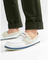 Sperry Top-Sider - Topsider Nautical Boat Shoes In White - Lyst