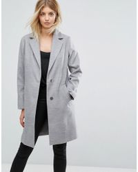 New Look - Tailored Coat - Lyst