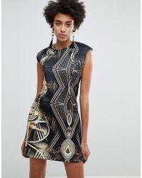 ASOS - X Star Wars Scuba Printed Mini Dress - Lyst