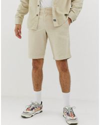 Dickies - Fabius Cord Shorts In Stone - Lyst