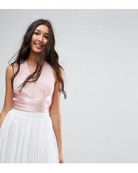 ASOS - Occasion Body In Tulle With Pretty Straps - Lyst