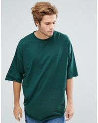 ASOS - Super Oversized Heavyweight T-shirt With Raw Edge - Lyst