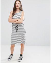 Cheap Monday - Collapse Dress Multistripe - Lyst
