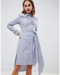 2nd Day - 2ndday Striped Shirt Dress - Lyst
