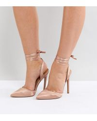ASOS - Pied Piper Wide Fit High Heels - Lyst
