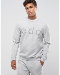 Esprit - Sweatshirt With Branding - Lyst
