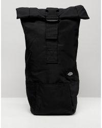 Dickies - Woodlake Flight Bag With Roll Top In Black - Lyst