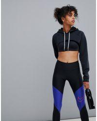 Nike - Shrug Hoodie In Black - Lyst
