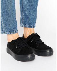 Blink - Flatform Plimsole Sneaker - Lyst