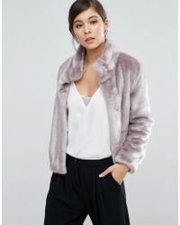 Coast - Oslo Faux Fur Jacket - Lyst