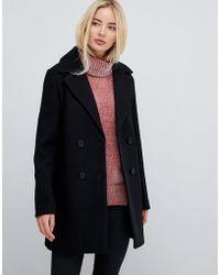 Fashion Union - Smart Coat - Lyst
