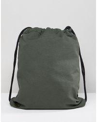 Mi-Pac - Canvas Kit Bag In Khaki - Lyst