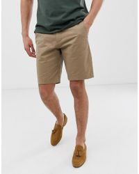 Ted Baker - Chino Short In Tan - Lyst