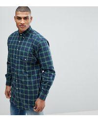 Polo Ralph Lauren - Tall Check Oxford Shirt In Dark Green - Lyst
