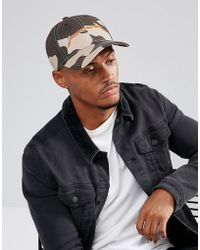 Good For Nothing - Baseball Cap In Camo With Logo - Lyst