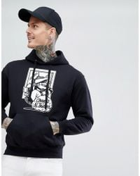 Cheats & Thieves - Cheats And Thieves Thief Back Print Hoodie - Lyst