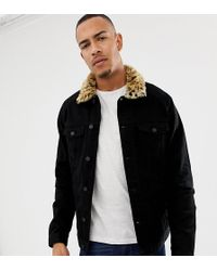 fc7dadf076e ASOS Reclaimed Vintage Varsity Jacket with Faux Leather Sleeves ...