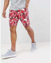 Only & Sons - Tropical Sweat Shorts - Lyst