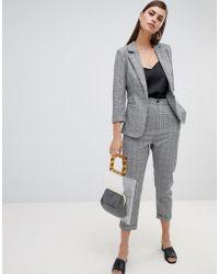 UNIQUE21 - Unique 21 Check Tailored Trousers - Lyst