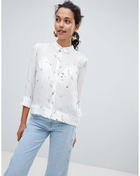 Esprit - Conversational Print Shirt - Lyst