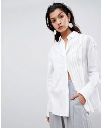 Sportmax Code - Pleat Detail Shirt - Lyst