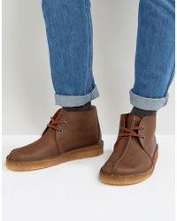 Clarks - Desert Trek Boots - Lyst