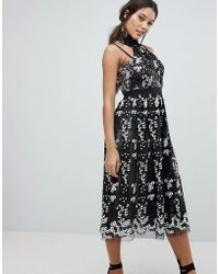 Forever New - Floral Embroidered Lace Dress - Lyst
