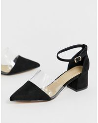 Truffle Collection - Transparent Pointed Heels - Lyst