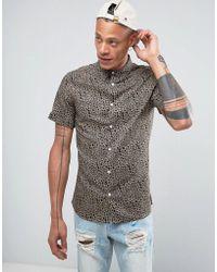 SYSTVM - Leopard Shirt - Lyst